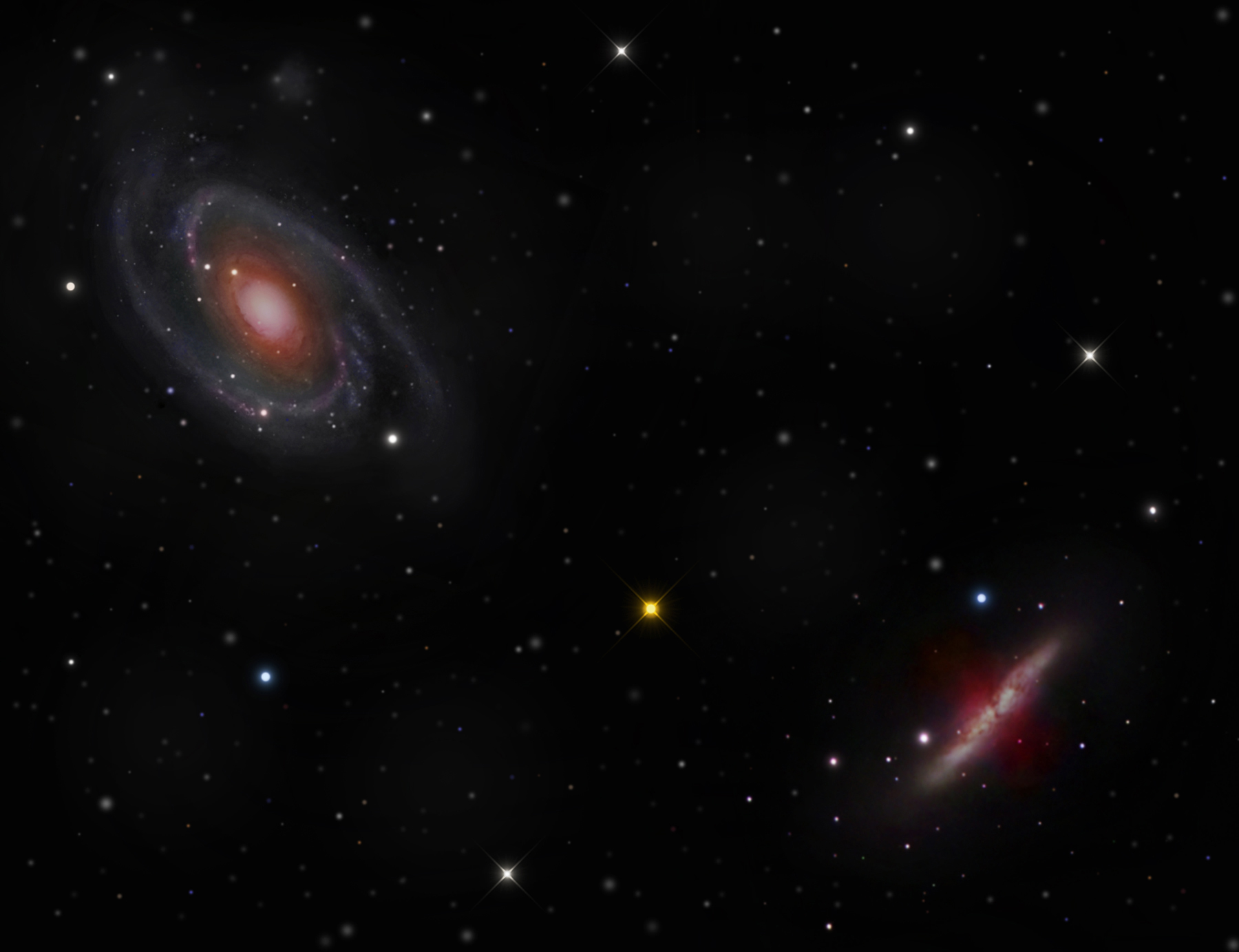M81 and M-82